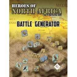 Heroes of North Africa BATTLE GENERATOR Lock 'n Load Tactical