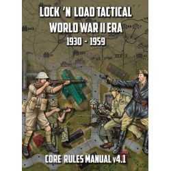 Lock 'n Load Tactical World War 2 Era Core Rules Book v4.1