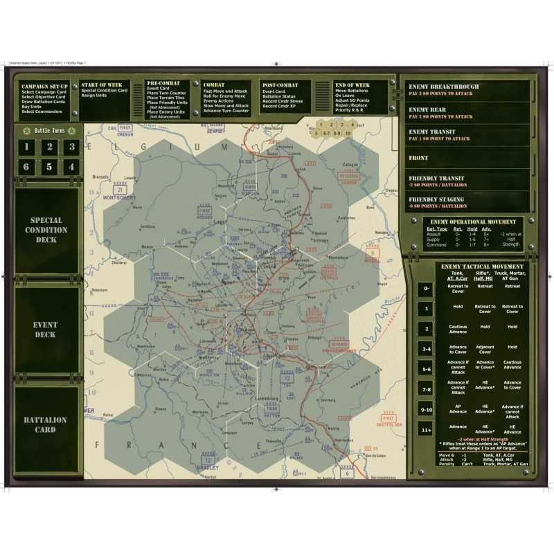 Sherman Leader neoprene Mat