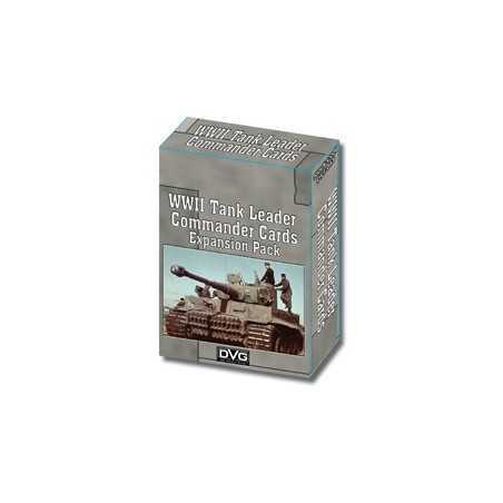 WWII Tank Leader Commander Cards Expansion