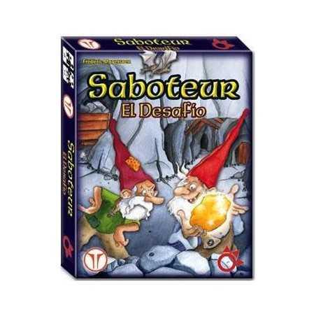 Saboteur EL DESAFÍO (versión 1o 2 jugadores)