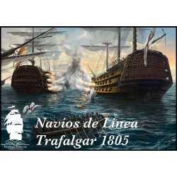 Navíos de Línea Trafalgar 1805