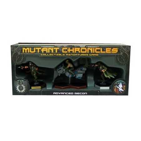 Mutant Chronicles Reconocimiento Avanzado
