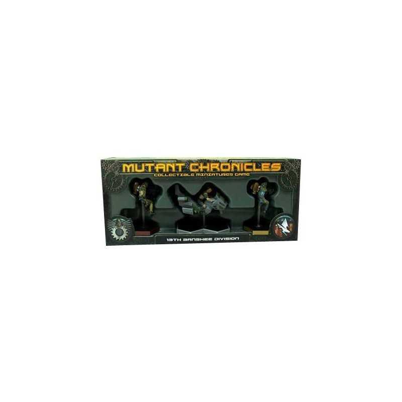 Mutant Chronicles Warpack 13th Banshee Division