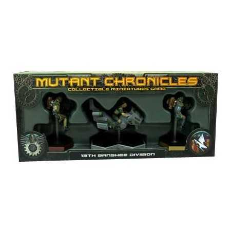 Mutant Chronicles 13ª División Banshee
