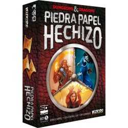 Piedra Papel Hechizo Dungeons and Dragons