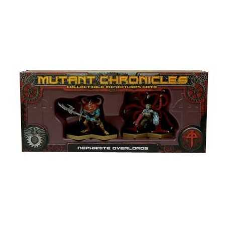 Mutant Chronicles Warpack Nepharite Overlords
