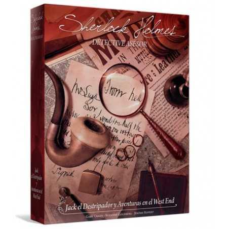 Sherlock Holmes Detective Asesor Jack el Destripador y Aventuras en el West End