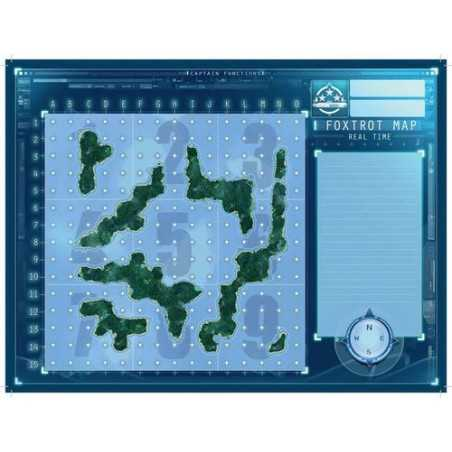 Captain Sonar Foxtrot Map