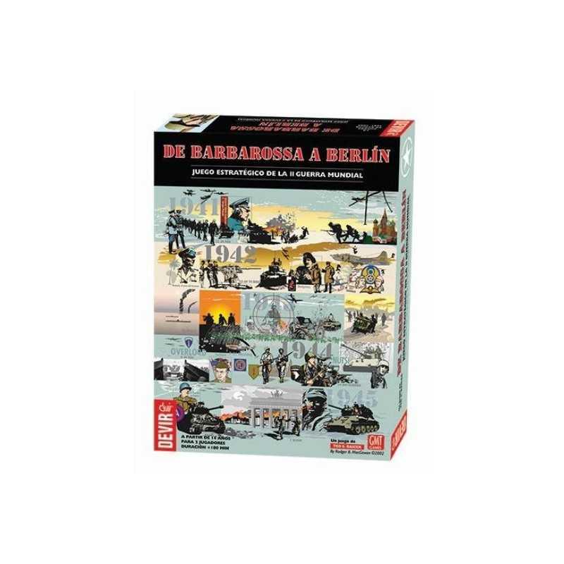 Comprar De Barbarossa A Berlin 2gm Juego De Mesa Wargame Devir