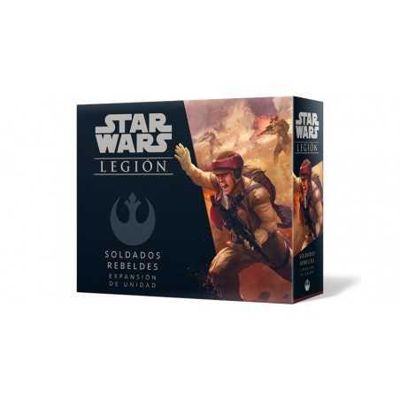 Soldados rebeldes Star Wars Legión