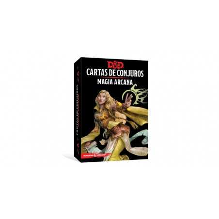 Cartas Magia arcana Dungeons and Dragons 5ªedición