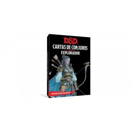 Cartas Explorador Dungeons and Dragons 5ªedición