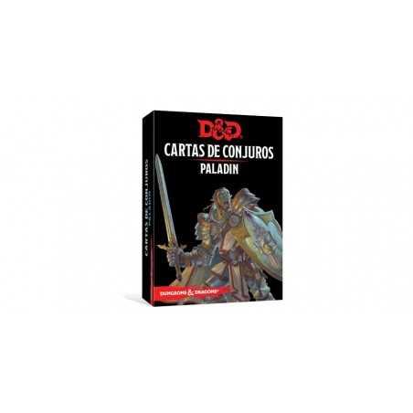 Cartas Paladín Dungeons and Dragons 5ªedición