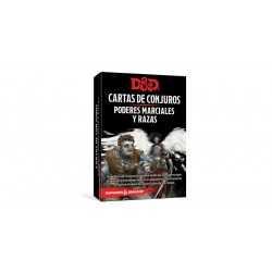 Cartas de Poderes marciales y razas Dungeons and Dragons 5ªedición