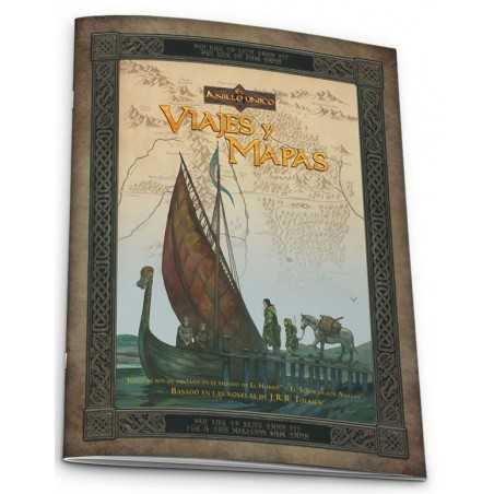El Anillo único Viajes y mapas