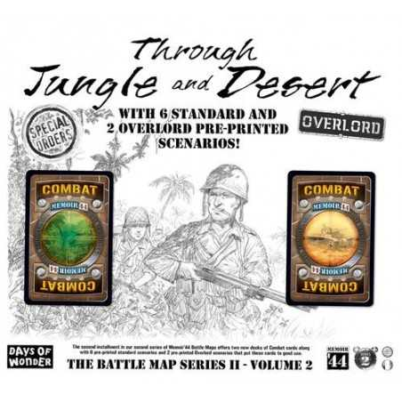 Through Jungle and Desert Memoir 44 expansion