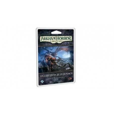 Los laberintos de la demencia Arkham Horror el juego de cartas