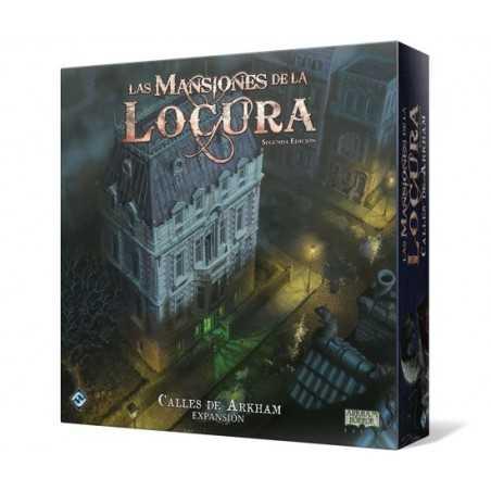 Calles de Arkham Las Mansiones de la Locura Segunda Edición