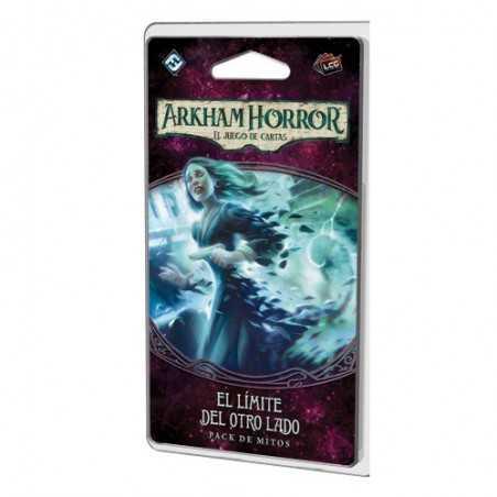 El límite del otro lado Arkham Horror el juego de cartas