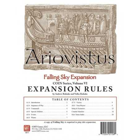 Ariovistus Falling Sky 2nd Edition expansion