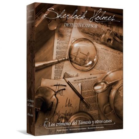Sherlock Holmes Los crímenes del Támesis