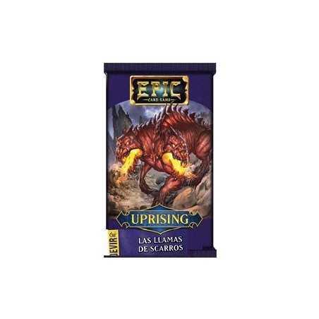 EPIC Las Llamas de Scarros (sobre expansión Epic Insurrección)
