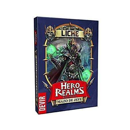 Hero Realms JEFE LICHE