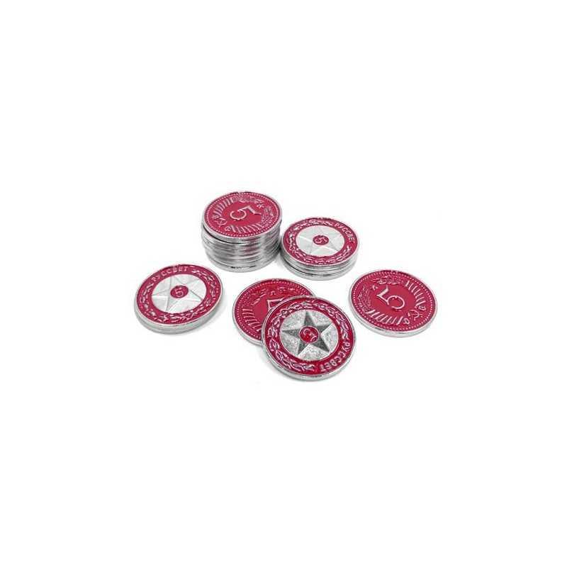 Scythe: monedas $5 red