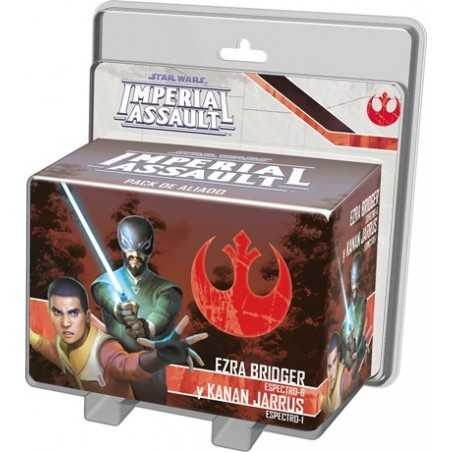 Ezra Bridger y Kanan Jarrus STAR WARS Imperial Assault