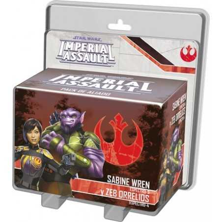 Sabine Wren y Zeb Orellios STAR WARS Imperial Assault