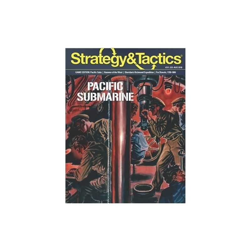 Strategy & Tactics 311 pacific submarine