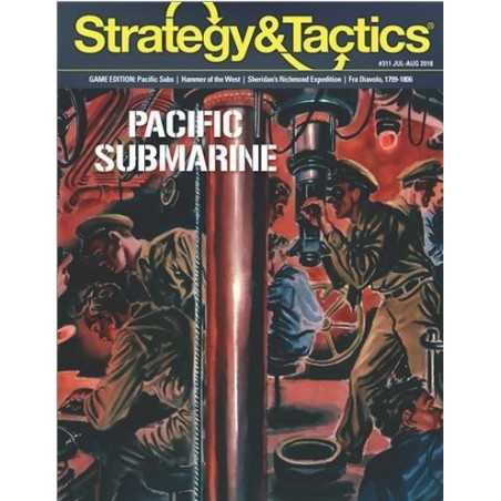 Strategy & Tactics 311 pacific submarine