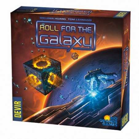 Roll for the Galaxy en español (DEVIR)