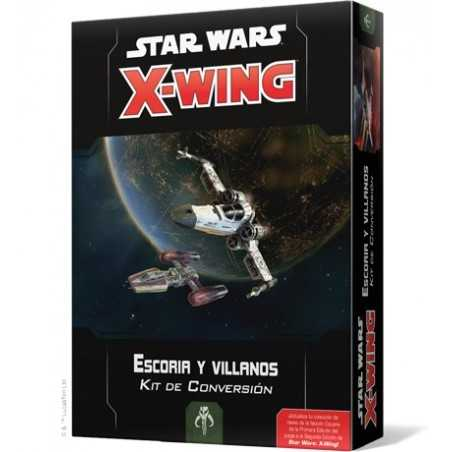Star Wars X-Wing Kit de Conversión Escoria y villanos
