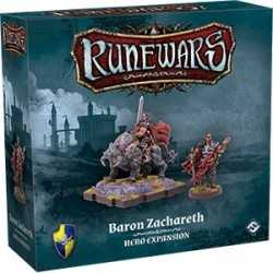 Runewars Baron Zachareth Hero Expansion (ENGLISH)