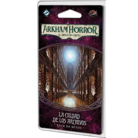 La Ciudad de los Archivos Arkham Horror el juego de cartas