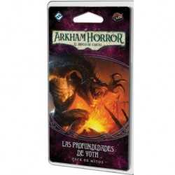 Las profundidades de Yoth Arkham Horror el juego de cartas