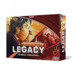 Pandemic Legacy Rojo