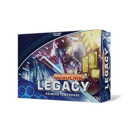 Pandemic Legacy Azul Primera Temporada