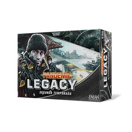 Pandemic Legacy Temporada 2 NEGRO