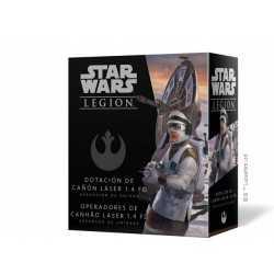 Dotación de cañón láser 1.4 FD Star Wars Legión