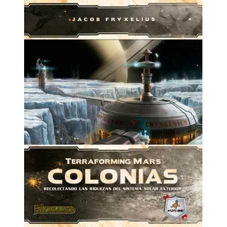 COLONIAS Expansión Terraforming Mars