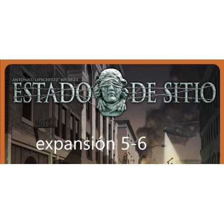 Estado de Sitio 5-6 players expansion
