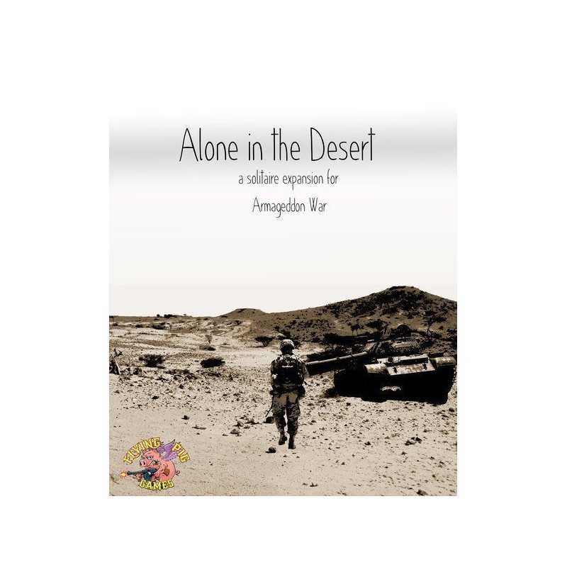 Armageddon War Alone in the Desert a solitaire expansion