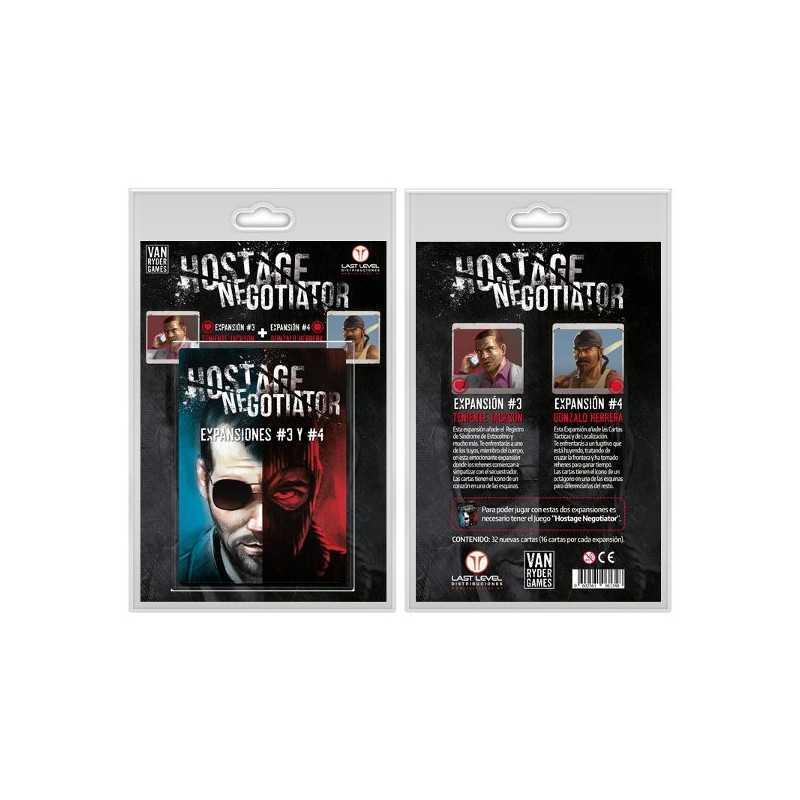 Hostage Negotiator EXPANSIONES 3 Y 4