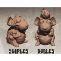 RatLand miniaturas de ratas
