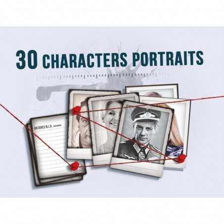Detective Retratos de personaje