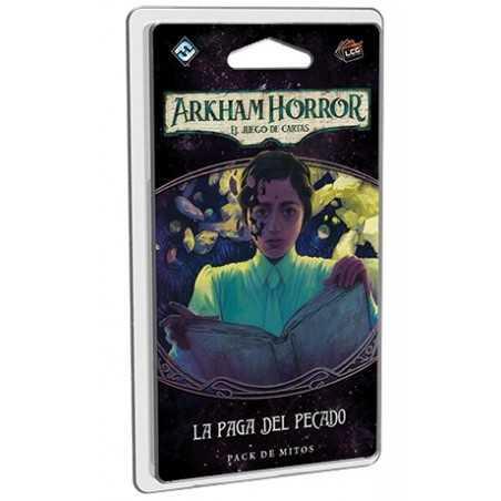 La paga del pecado Arkham Horror el juego de cartas