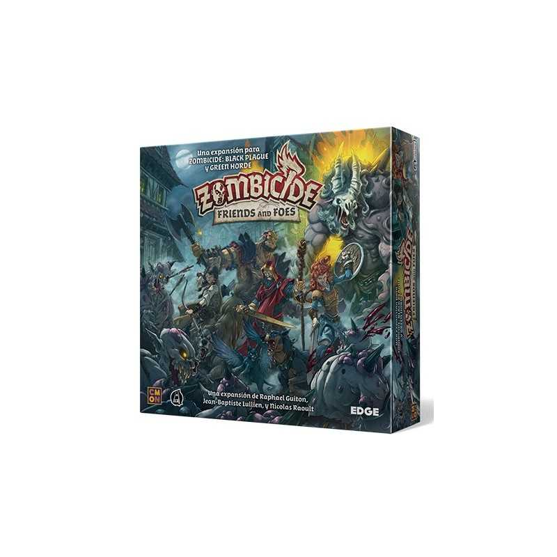 Friends and Foes Zombicide Black Plague